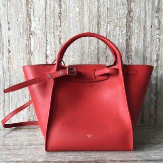 6e793408317e ... High Quality Celine Small Big Bag In Red Bare Calfskin Orlando